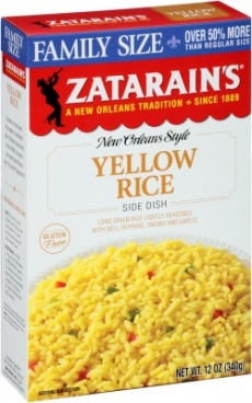 Zatarain's Yellow Rice - 6.9 Oz / 195g[1]