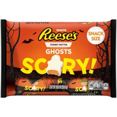 Reese's peanut butter ghosts white creme halloween candy