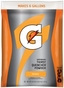 GATORADE POWDER THIRST QUENCHER ORANGE BAG - 50.9oz 1.44KG