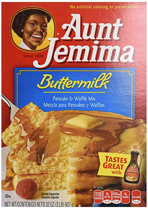 Aunt Jemima Buttermilk Pancake and Waffle Mix Case Buy