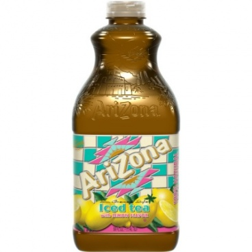 ARIZONA ICE TEA WITH LEMON FLAVOUR EXTRA LARGE 59 FL OZ
