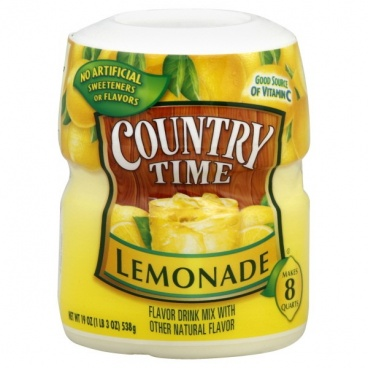 Country Time Lemonade  Drink Mix Makes 8 Quarts 19oz Case Buy 12 cannister
