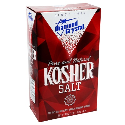Diamond Crystal Kosher Salt 48oz 1.36kg