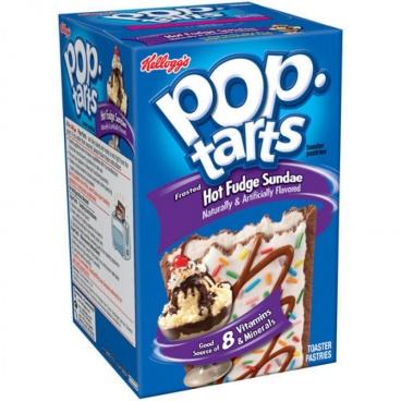 Kelloggs Frosted Hot Fudge Sundae Pop Tarts 384g Pop-Tarts
