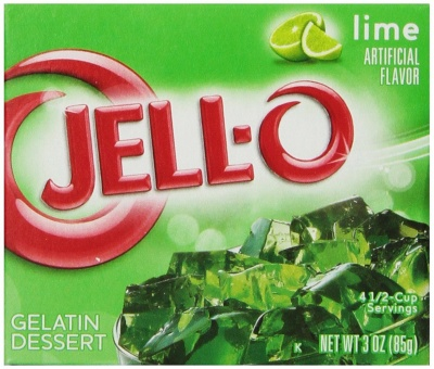 Jell-O Lime Gelatin Dessert 85 g (Pack of 6)
