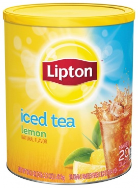 Lipton Iced Tea Natural Lemon Makes 20 Quarts. 1.5kg - CASE BUY OF 6