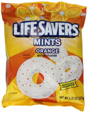 Life Savers Mints Orange 6.25oz 177g American Candy