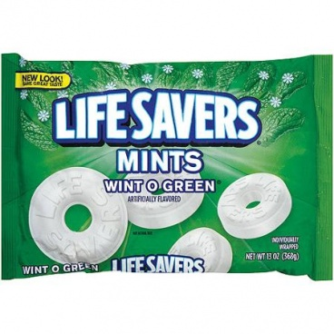 Life Savers Mints Wint O Green Large 13 oz 368g American Candy