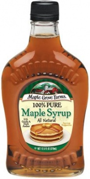 Maple Grove Farms 100% Pure Maple Syrup  250ml (8.5oz) Glass bottle
