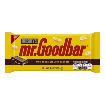 Hersheys Mr Goodbar Chocolate American Candy Bar Large 4.4oz 124g
