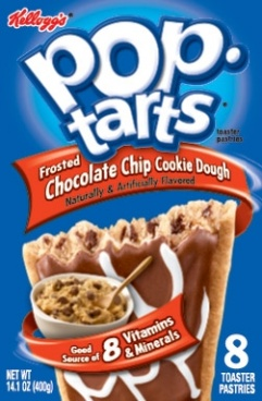 Kelloggs Frosted Chocolate Chip Cookie Dough Pop Tarts 400g Pop-Tarts