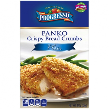 Progresso Panko Crispy  Bread Crumbs Plain 8oz box 226g