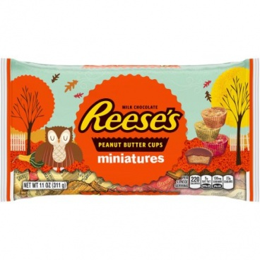 Reese's Peanut Butter Cups Milk Chocolate Miniatures 11oz 311g Reeses HALLOWEEN CANDY