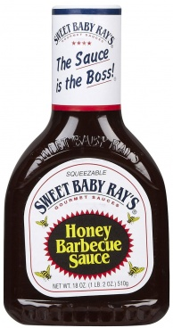 Sweet Baby Ray's Honey Barbecue Sauce 510g (18oz) BBQ