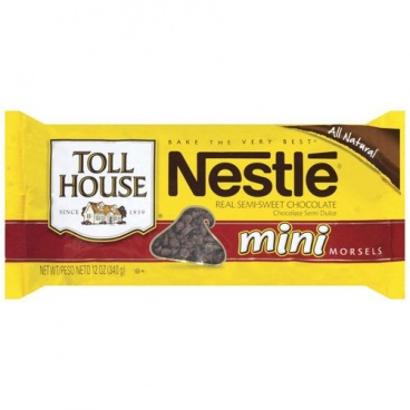 Nestle Toll House Semi Sweet Mini Morsels 10oz 283g