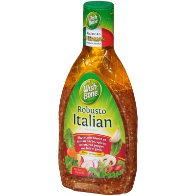 Wish-Bone Italian Dressing 16fl oz 473ml  WishBone Dressing