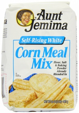 Aunt Jemima Self Rising White Corn Meal Mix Flour 32 OZ (907g)
