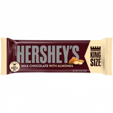 Hershey's Milk Chocolate with Almonds (73g)