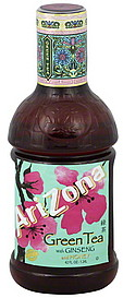 Arizona Green Tea with Ginseng and Honey 42fl.oz 1.24L