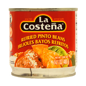 La Costena Refried  Pinto Beans 400g MEXICAN