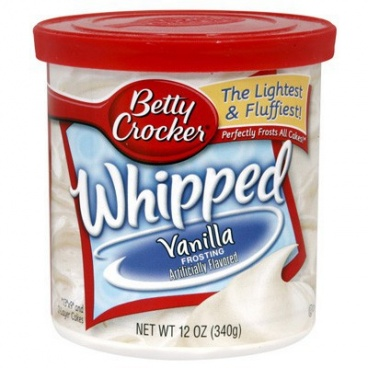 Betty Crocker Whipped Frosting Vanilla 340g