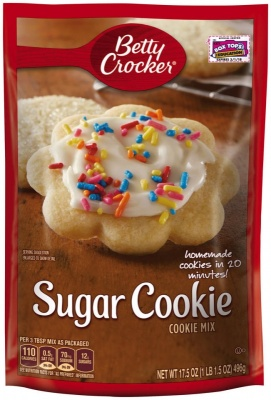 Betty Crocker Sugar Cookie Mix 17.5oz 496g