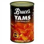 Bruces Yams Cut Sweet Potatoes In Syrup 40oz Bruce's