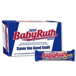 Nestle Baby Ruth 2.1oz  59.5g Case Buy of 24 Bars