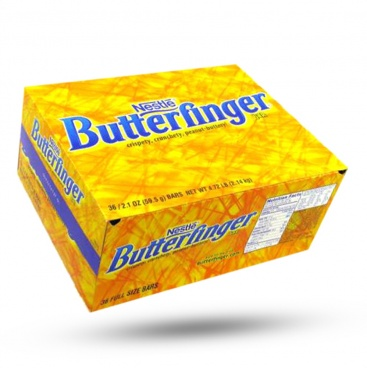 Nestle Butterfinger Candy Bar - Case Buy 36 - 59.5g Butter Finger Wholesale candy