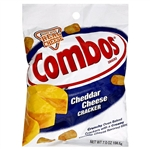 Combos Cheddar Cheese Cracker Cheddarl 6.3oz 178.6g blue bag
