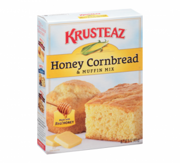 Krusteaz Southern Honey Cornbread & Muffin Mix, 15 oz  (425g)