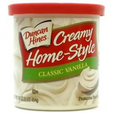 Duncan Hines Home Style Classic Vanilla Frosting 453g