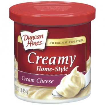 Duncan Hines Creamy Home Style Cream Cheese Frosting 16oz 453g - 8 Packs Case Buy