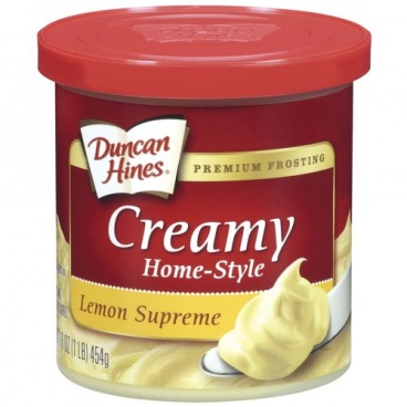 Duncan Hines Home Style  Lemon Supreme Frosting 453g - 8 Packs Case Buy