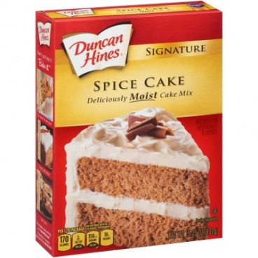 Duncan Hines Spice Cake Mix