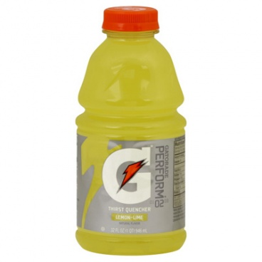 Gatorade Thirst Quencher Lemon - Lime Sports Drink 20 fl oz 591 ml CASE BUY 24 PACK