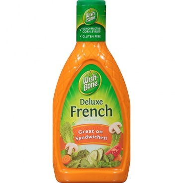 Wish-Bone Deluxe French Salad Dressing Large 15fl oz 444ml Wish Bone
