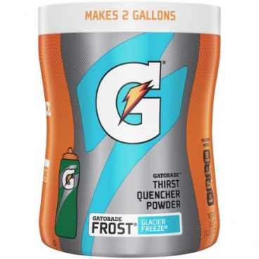 Gatorade GLACIER FREEZE Sports Drink Powder 18.3 oz. 521g Canister