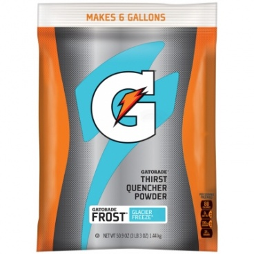GATORADE POWDER THIRST QUENCHER FROST GLACIER BAG - 50.9oz 1.44kg