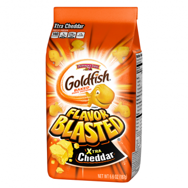 Goldfish Crackers - Flavor Blasted Xtra Cheddar