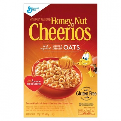 Original Honey Nut  Cheerios gluten free by General Mills Cereal 306g (10.8 oz)