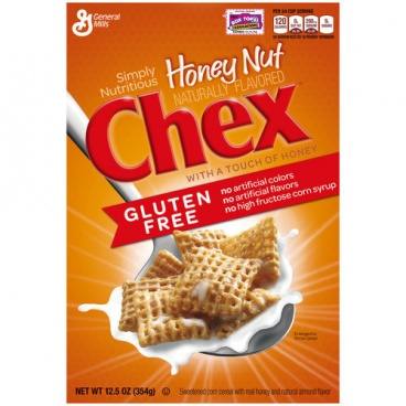 General Mills Honey Nut Chex Cereal GLUTEN FREE 354g 12.5 oz