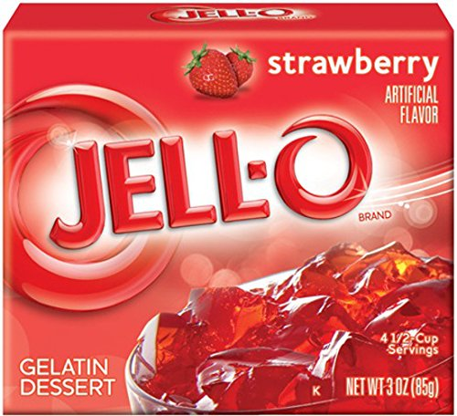 jell-o strawberry 2 pack