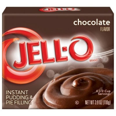 Jell-o Jello Instant Chocolate Pudding 3.9oz 110g Jello