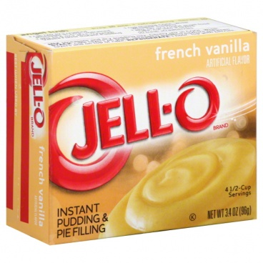 Jell-o Jello Instant French Vanilla Pudding & Pie Filling 96g (3.4 oz)