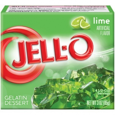 Jell-o Lime 85g (3oz) Jello