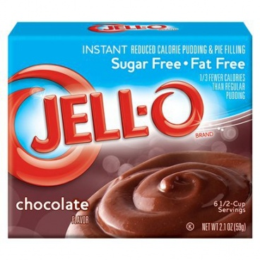 Jell-o Sugar-Free Fat Free Instant Chocolate Pudding & Pie Filling 59g (2.1oz)