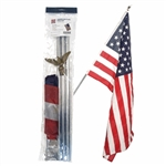 United States Residential flagpole kit US Flags