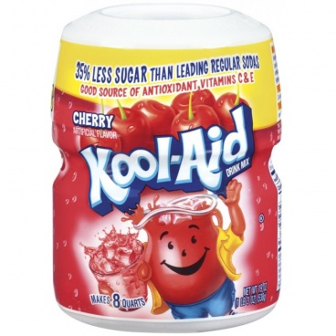 Kool Aid Cherry Drink Mix 19oz 538g Sweetened