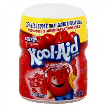 Kool Aid Cherry Drink Mix 19oz 538g Sweetened - CASE BUY Wholsale